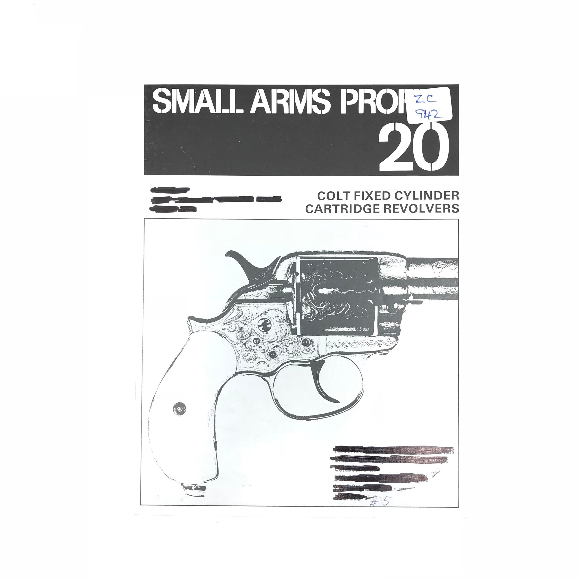 Small Arms Profile 20 Colt Fixed Cylinders Cartridge Revolvers