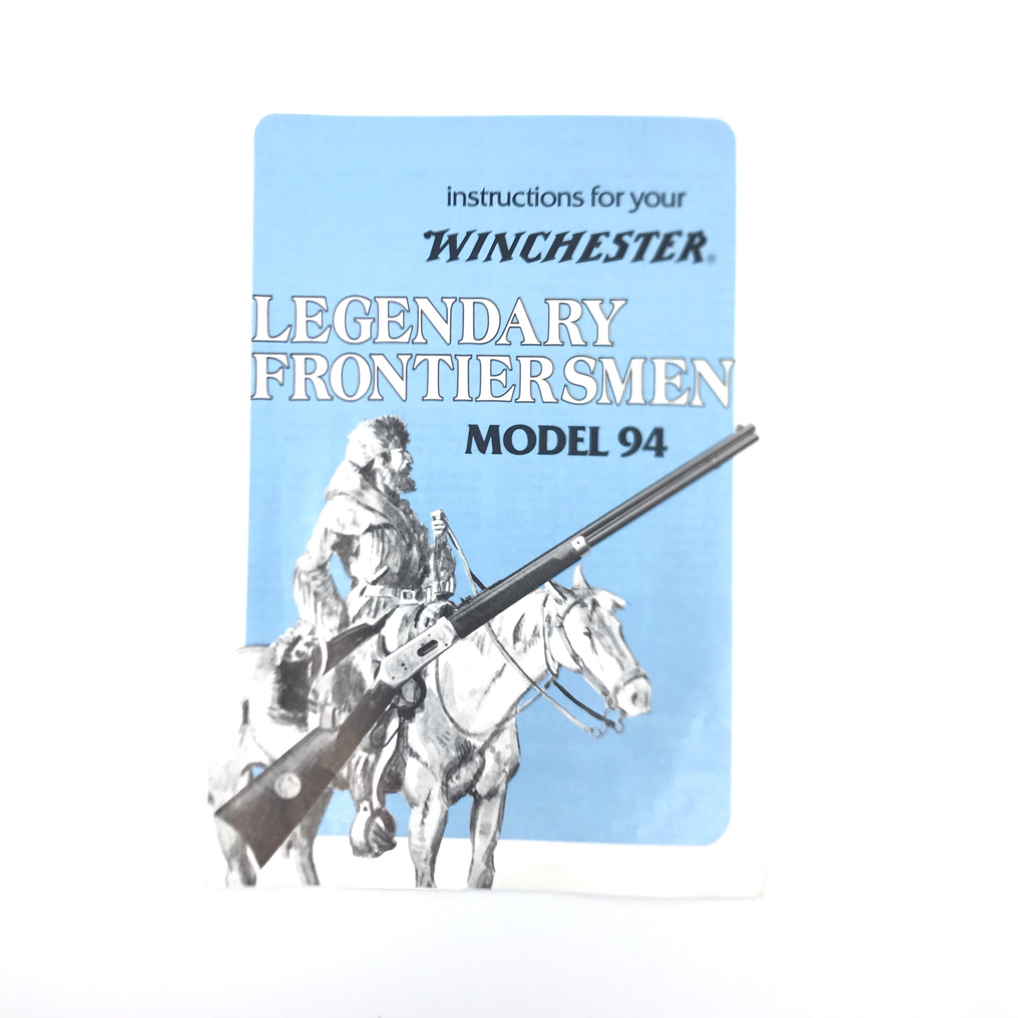 Instructions for Winchester Legendary Frontiersmen Model 94