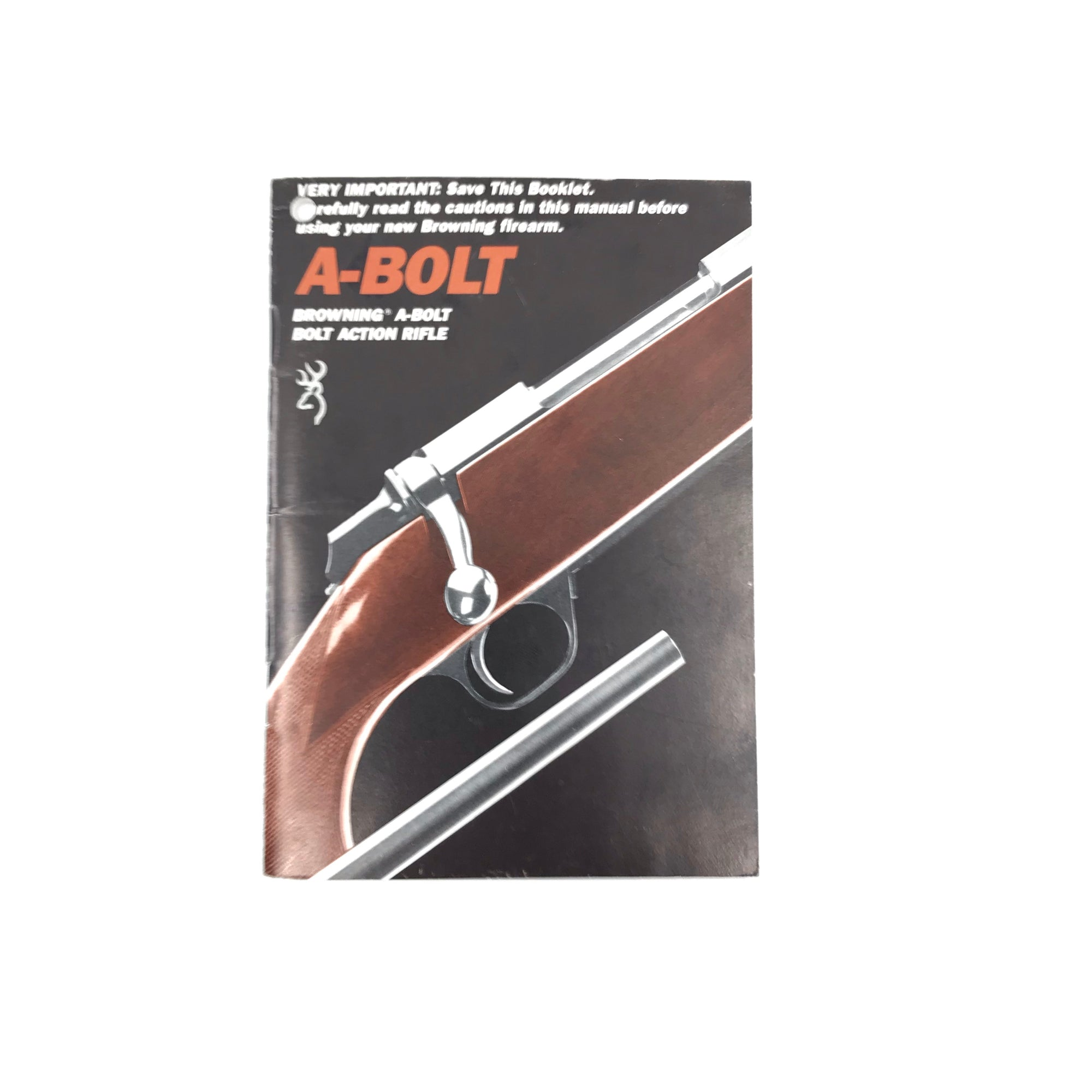 Browning A-Bolt Bolt Action Rifle Manual (1989)