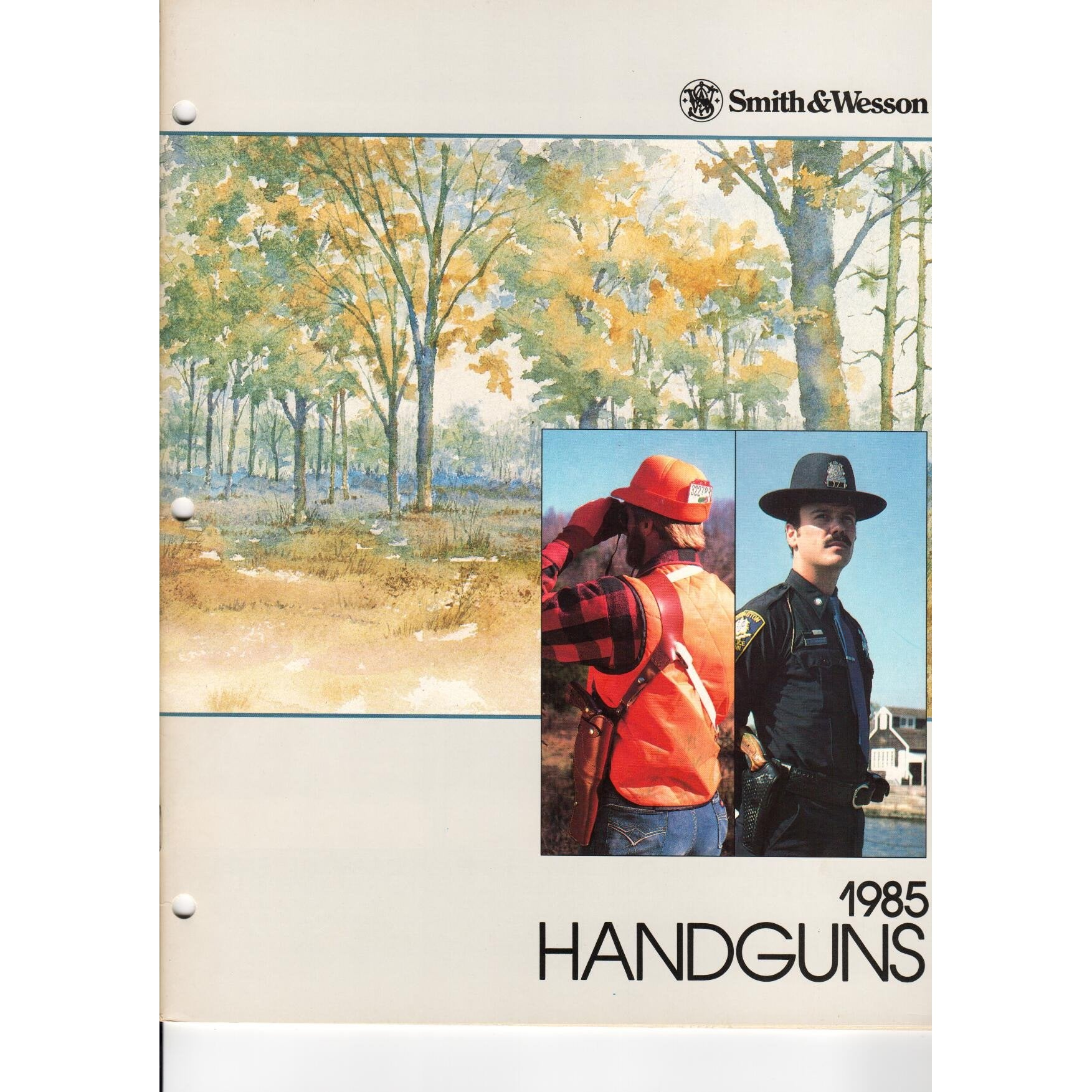 Smith & Wesson 1985 Handguns,Catalogues & Brochures- Canada Brass