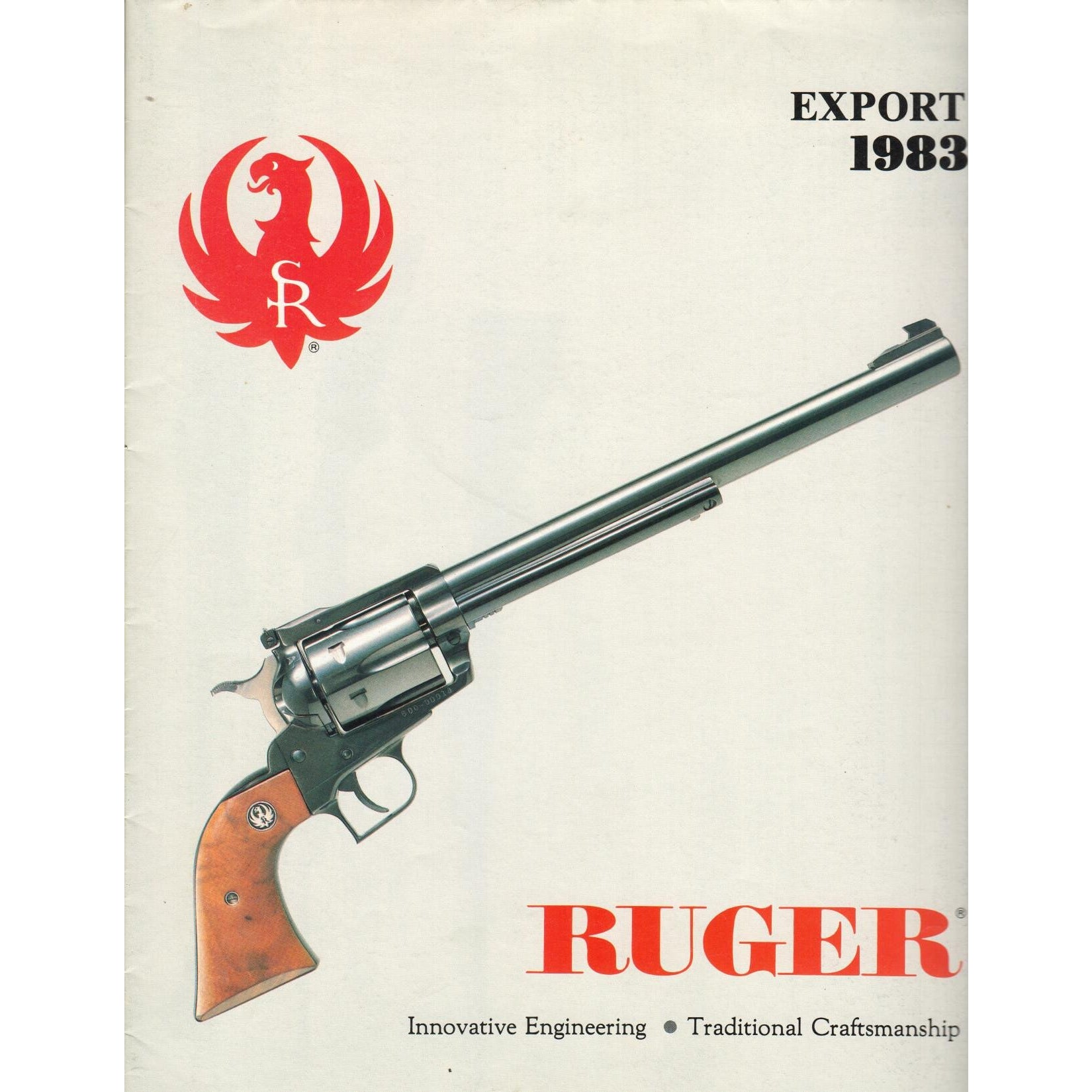Ruger Export 1983,Catalogues & Brochures- Canada Brass