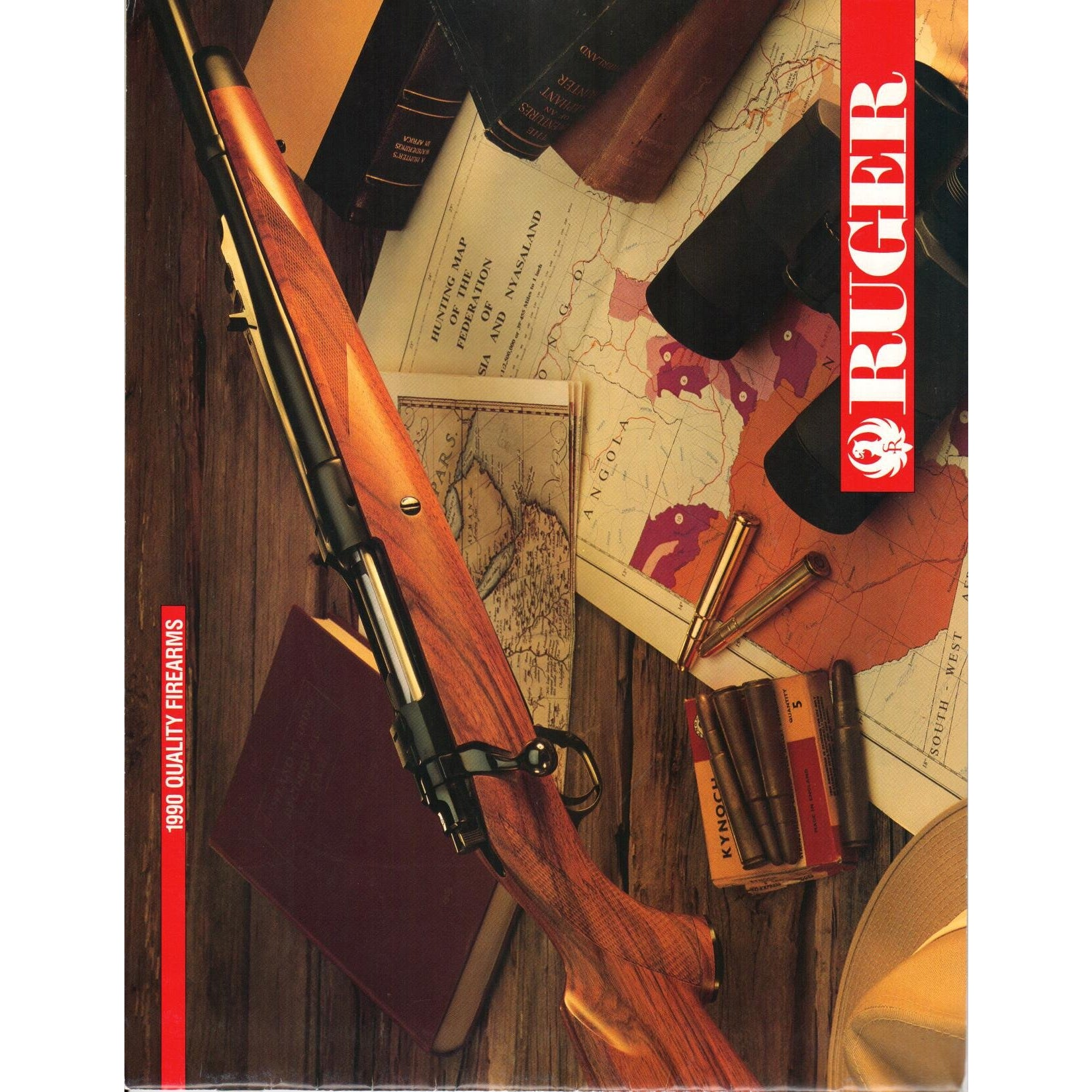 Ruger 1990 Quality Firearms,Catalogues & Brochures- Canada Brass