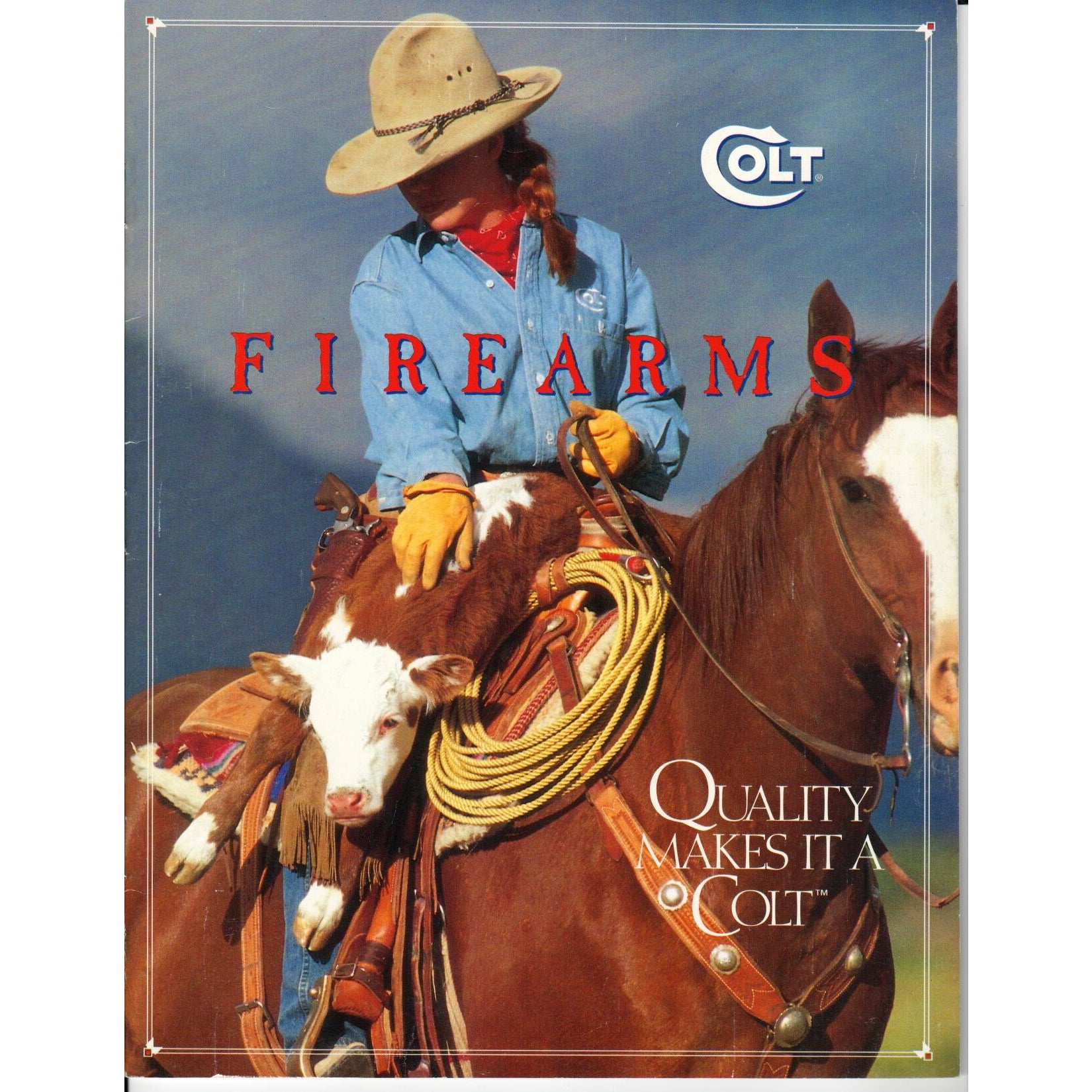 Colt Firearms 'Quality Makes It A Colt' 1995,Catalogues & Brochures- Canada Brass