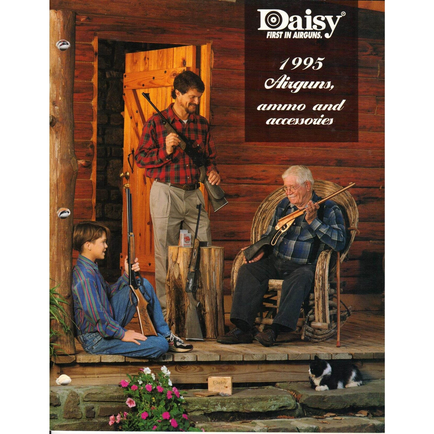 Daisy 1995 Airguns, Ammo & Accessories,Catalogues & Brochures- Canada Brass