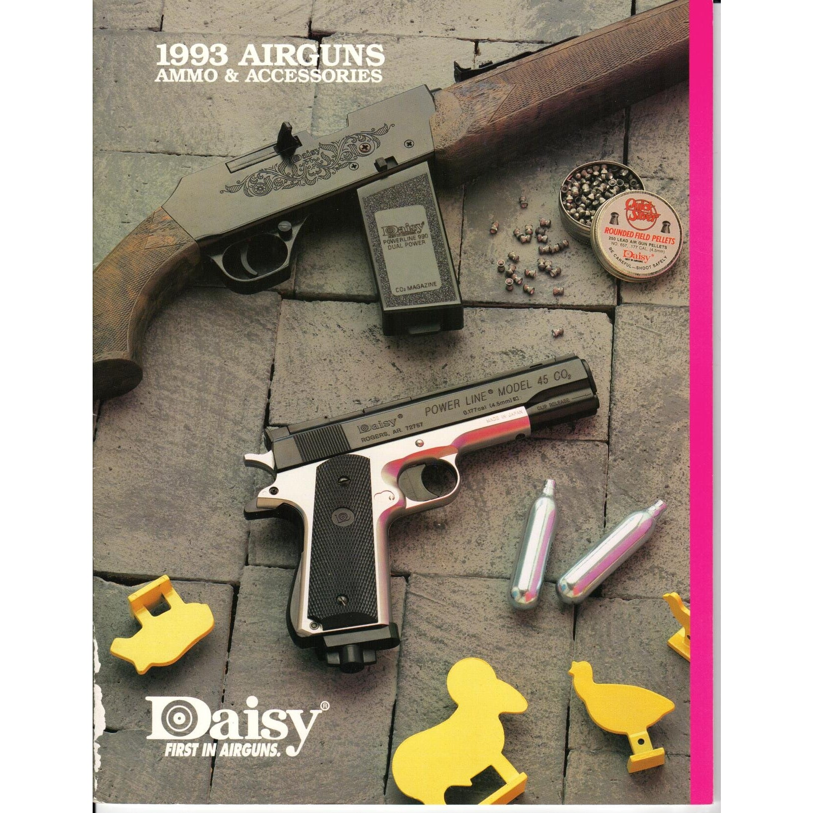 Daisy 1993 Airguns, Ammo & Accessories,Catalogues & Brochures- Canada Brass