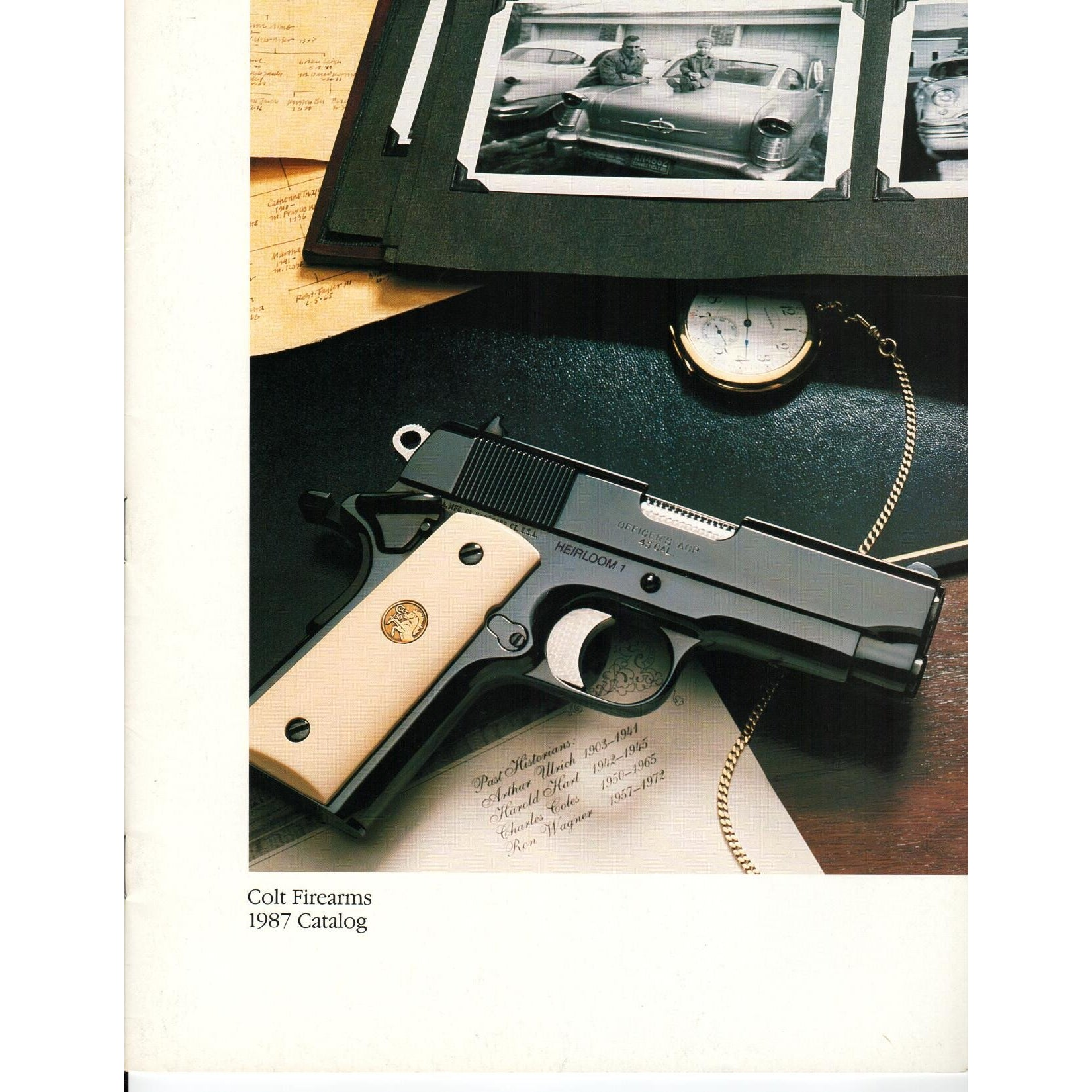Colt Firearms 1987 Catalog,Catalogues & Brochures- Canada Brass