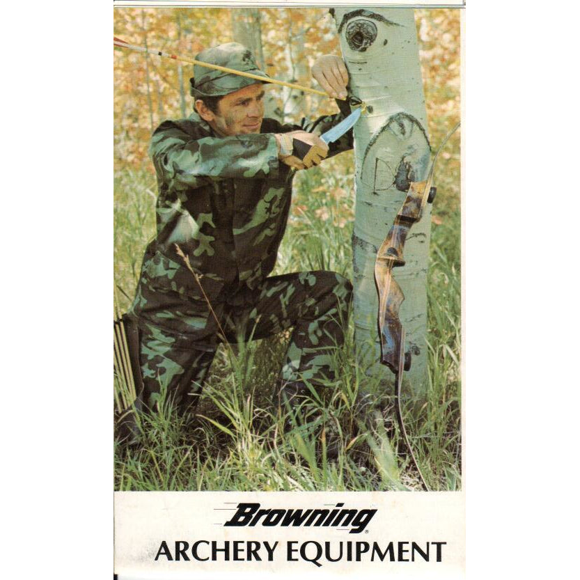 Browning Archery Equipment One-Sheet,Catalogues & Brochures- Canada Brass