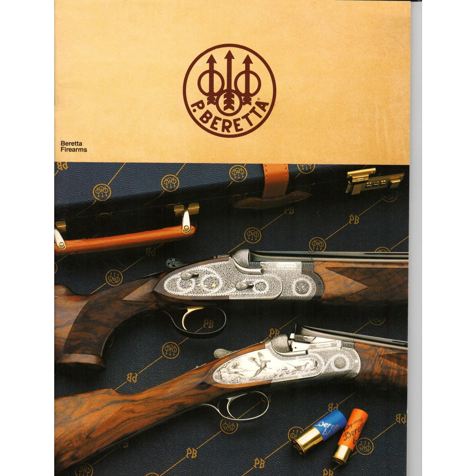 Beretta Firearms (Copyright 1988),Catalogues & Brochures- Canada Brass