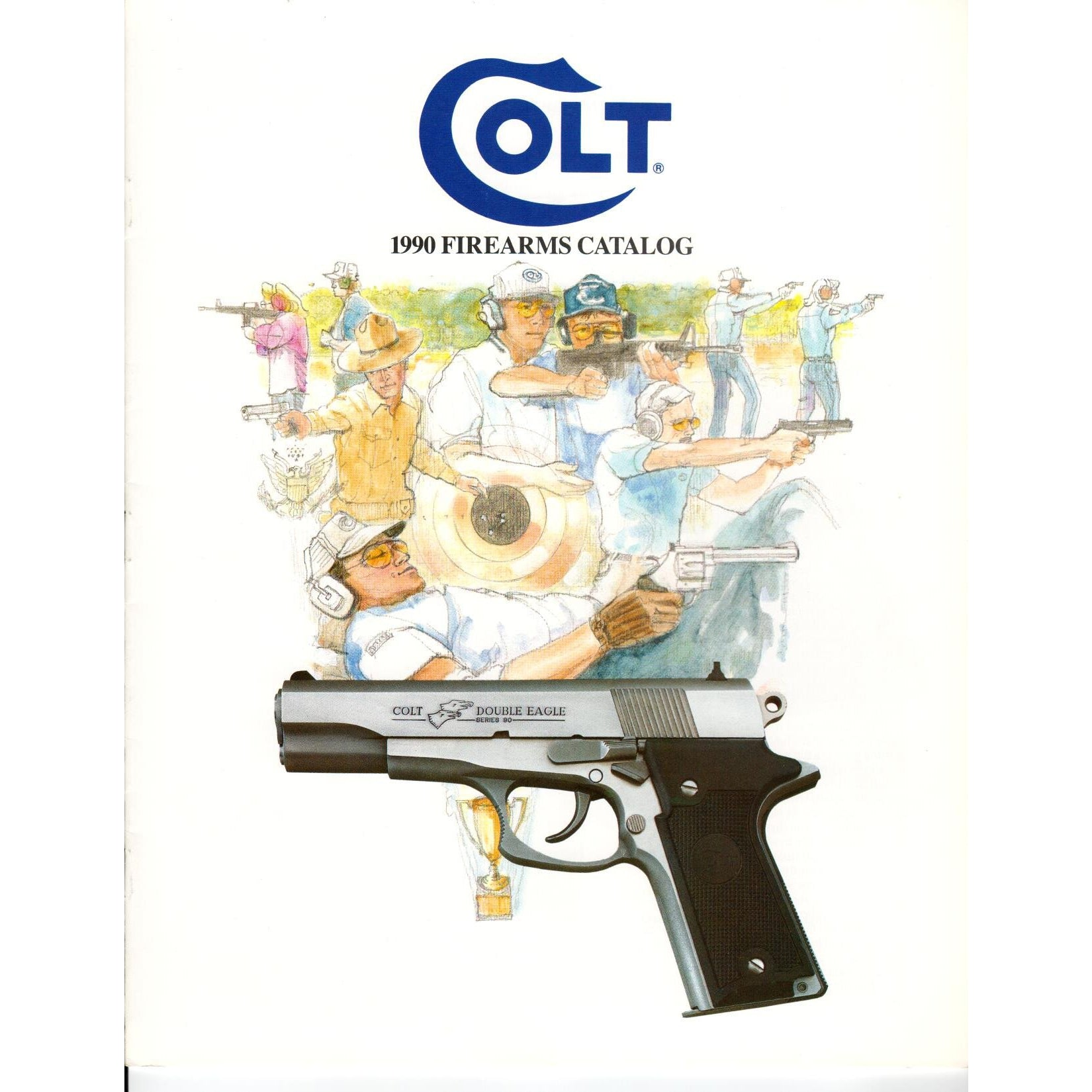Colt 1990 Firearms Catalogue,Catalogues & Brochures- Canada Brass