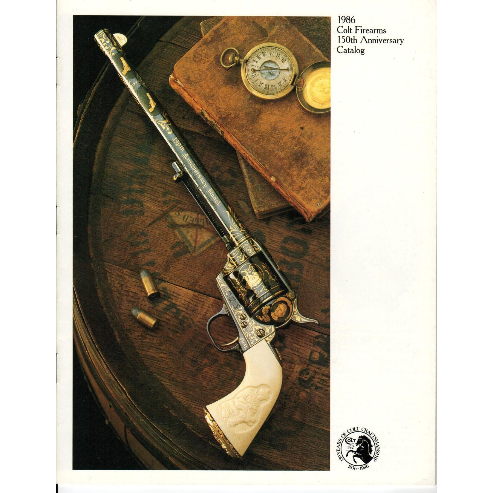 1986 Colt Firearms 150th Anniversary Catalog,Catalogues & Brochures- Canada Brass