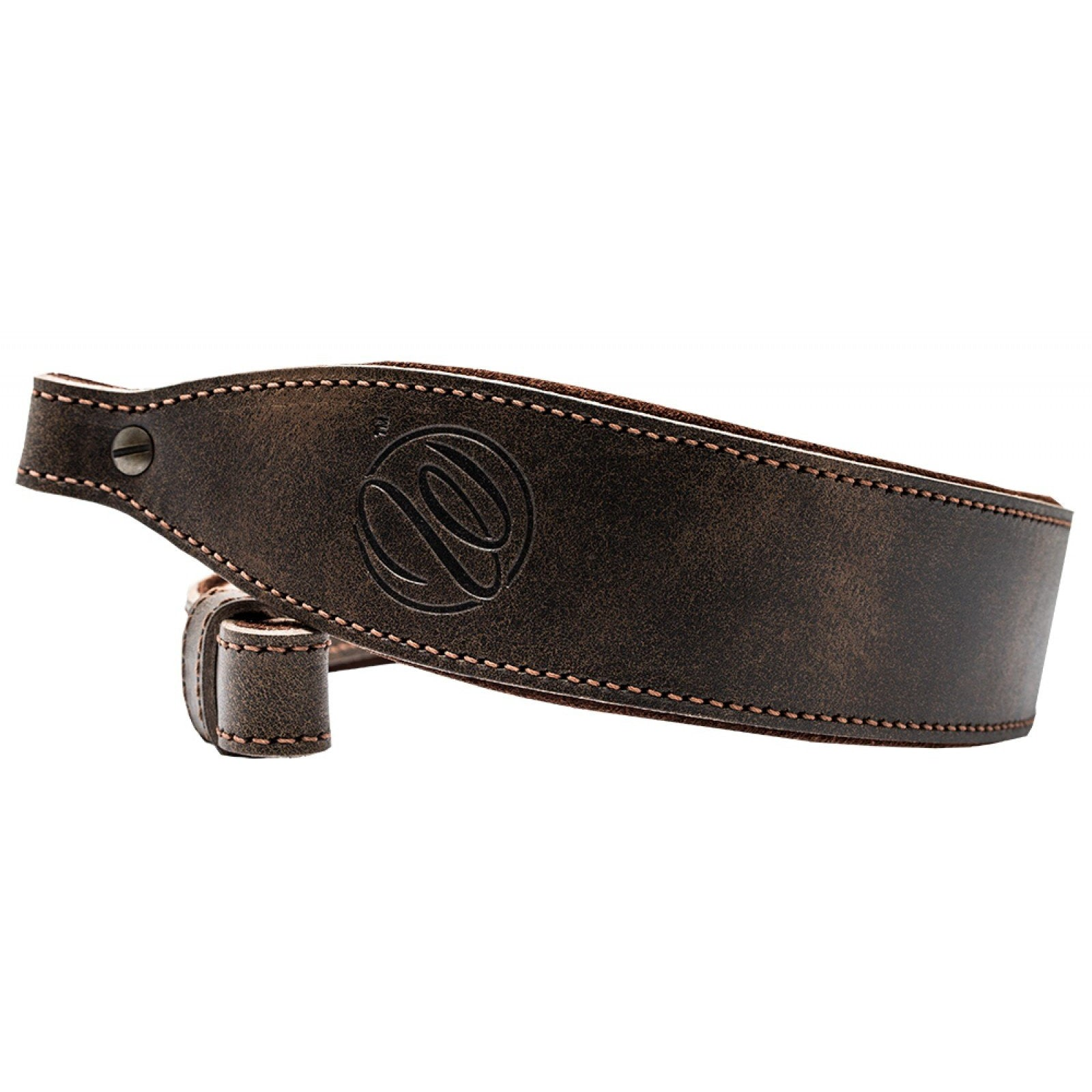 Weatherby Levy's Leather Sling,Enhancements- Canada Brass