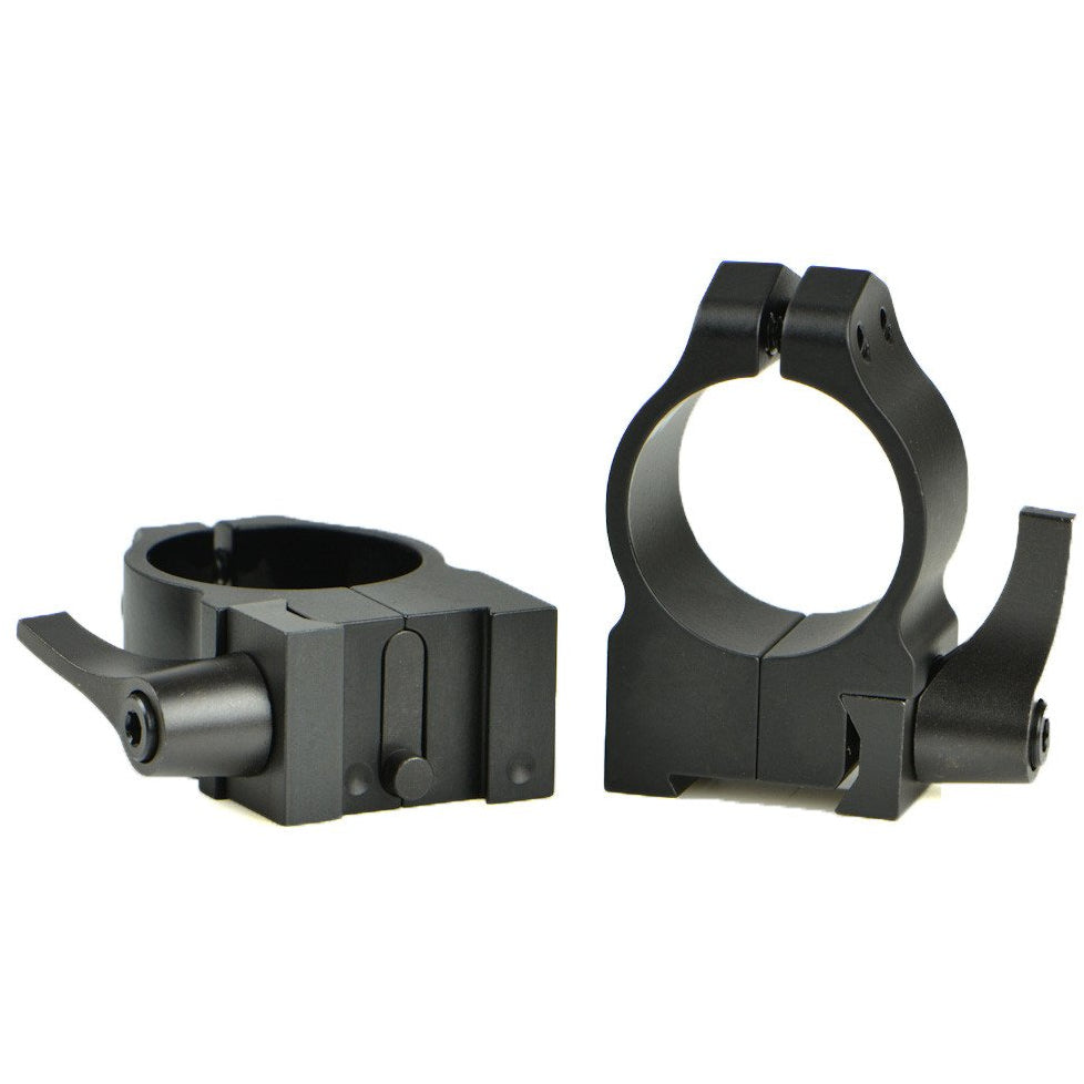 "Warne 1"" Quick Detachable Rings for Tikka,Scope Mount Systems- Canada Brass"