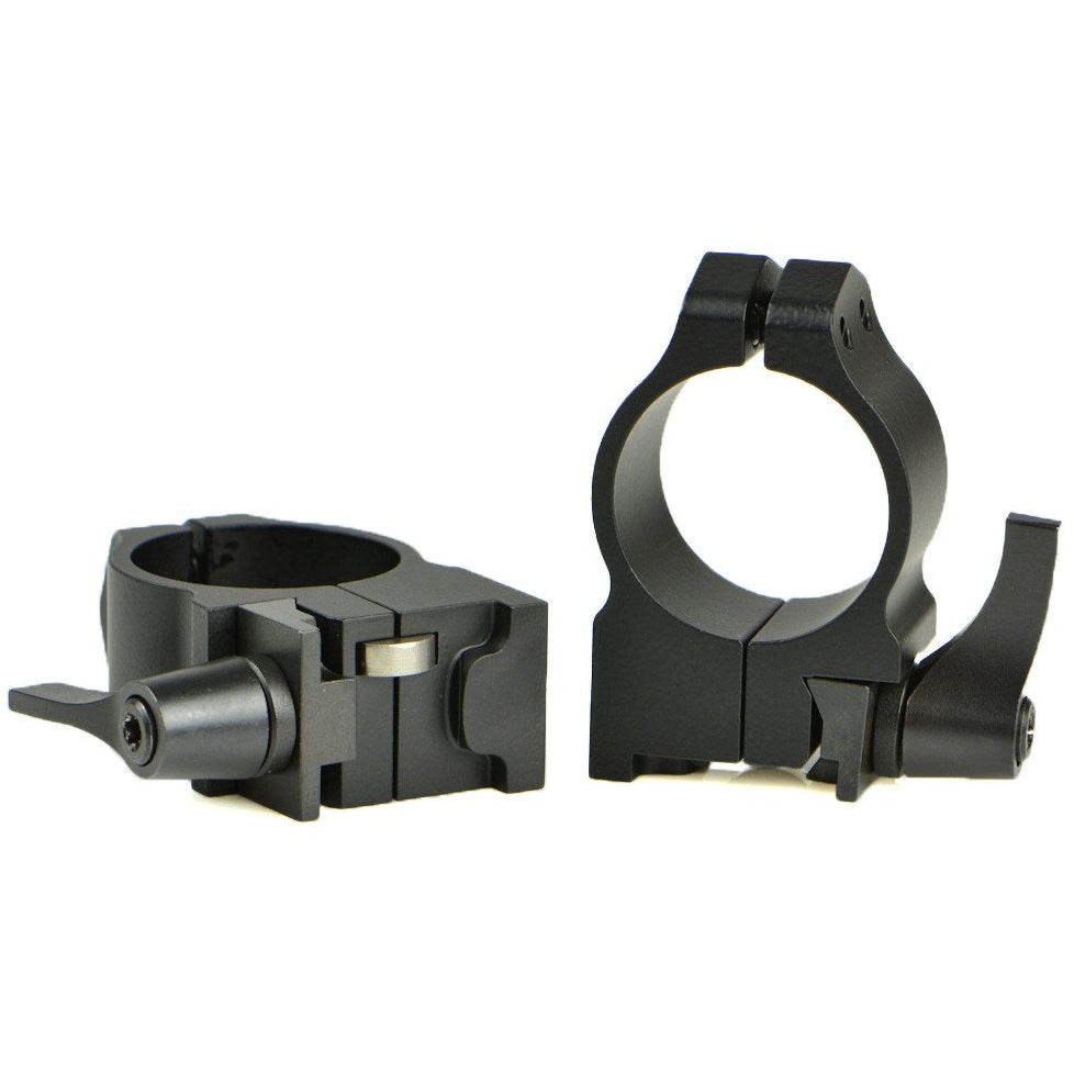 Warne Quick Detachable Rings for Ruger Rifles,Scope Mount Systems- Canada Brass