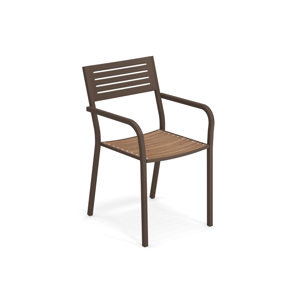 EMU Segno Armchair With Teak Seat (Set of 4)