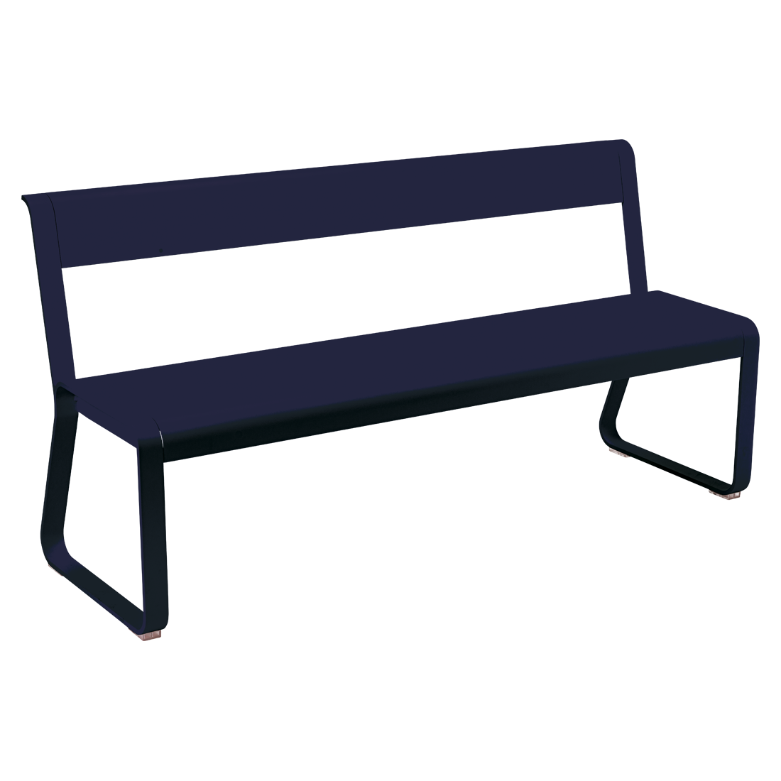 FERMOB Bellevie Bench with Backrest
