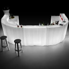 Hire Frozen LED U-Shaped Bar Configuration 'F'