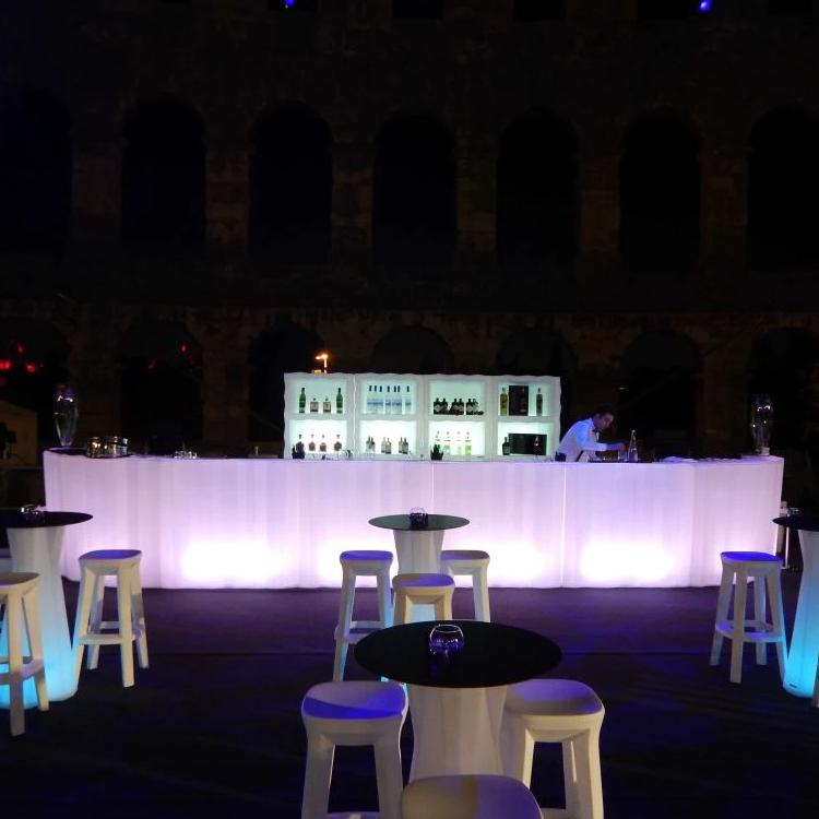 Hire Frozen LED Extra Long Bar Configuration 'B'