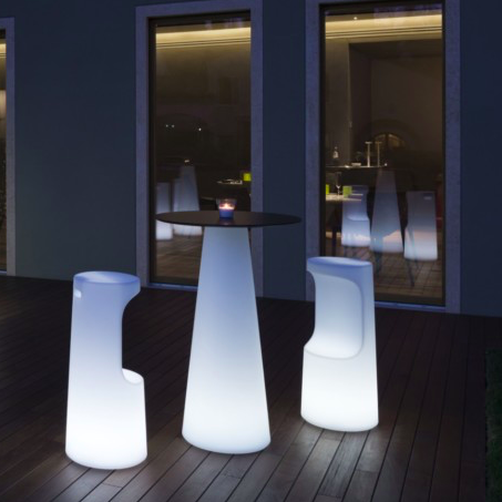 Hire Fura LED Bar Stool