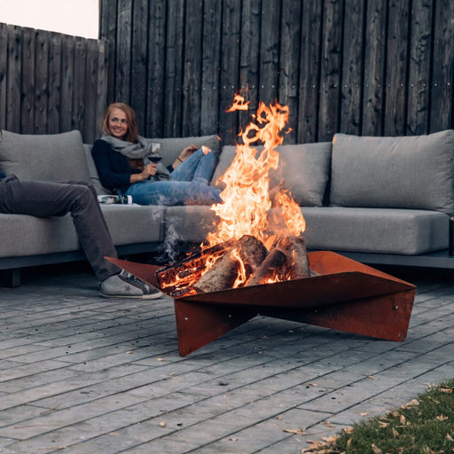 Hofats TRIPLE 120 Large Fire Bowl - Barbecue