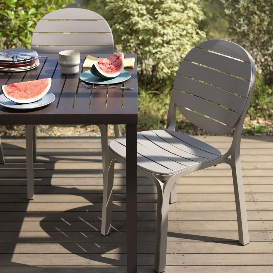 NARDI Cube Outdoor 6 Seater Dining Set with Erica Chairs