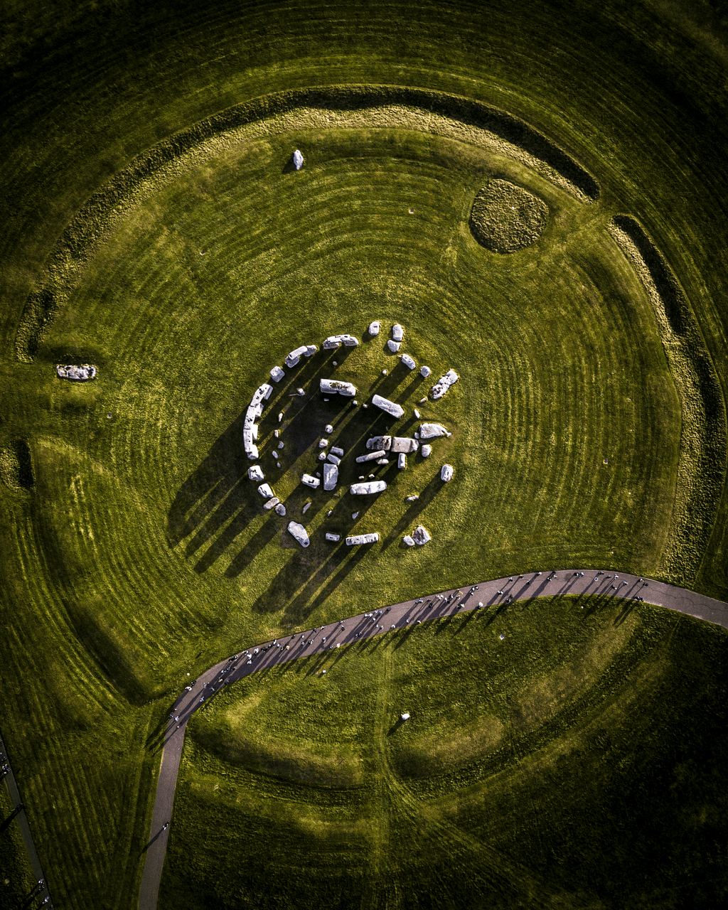 Stonehenge From Above