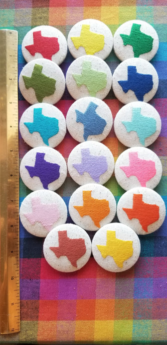Texas Embroidered Magnets
