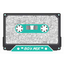 Load image into Gallery viewer, 80's Mix Tape