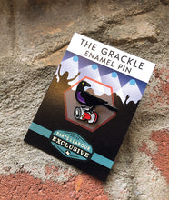 Load image into Gallery viewer, Grackle Enamel Pin - Can