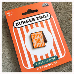 Burger Time! - Enamel Pin