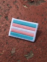 Load image into Gallery viewer, Pride Flag Embroidered Pin