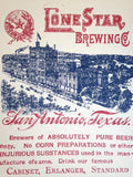 Lone Star Brewing Co - Print