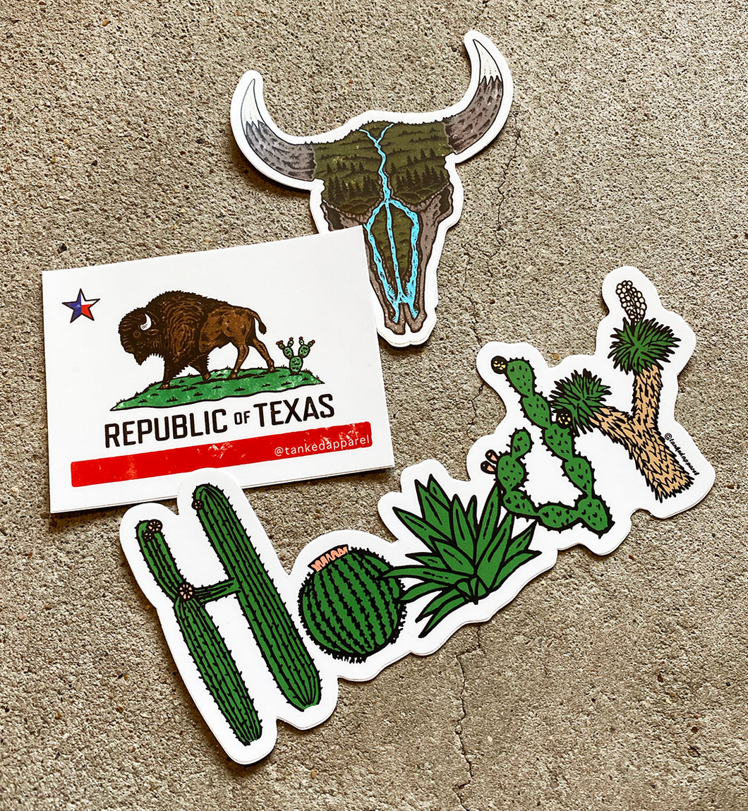 Texas Sticker Pack