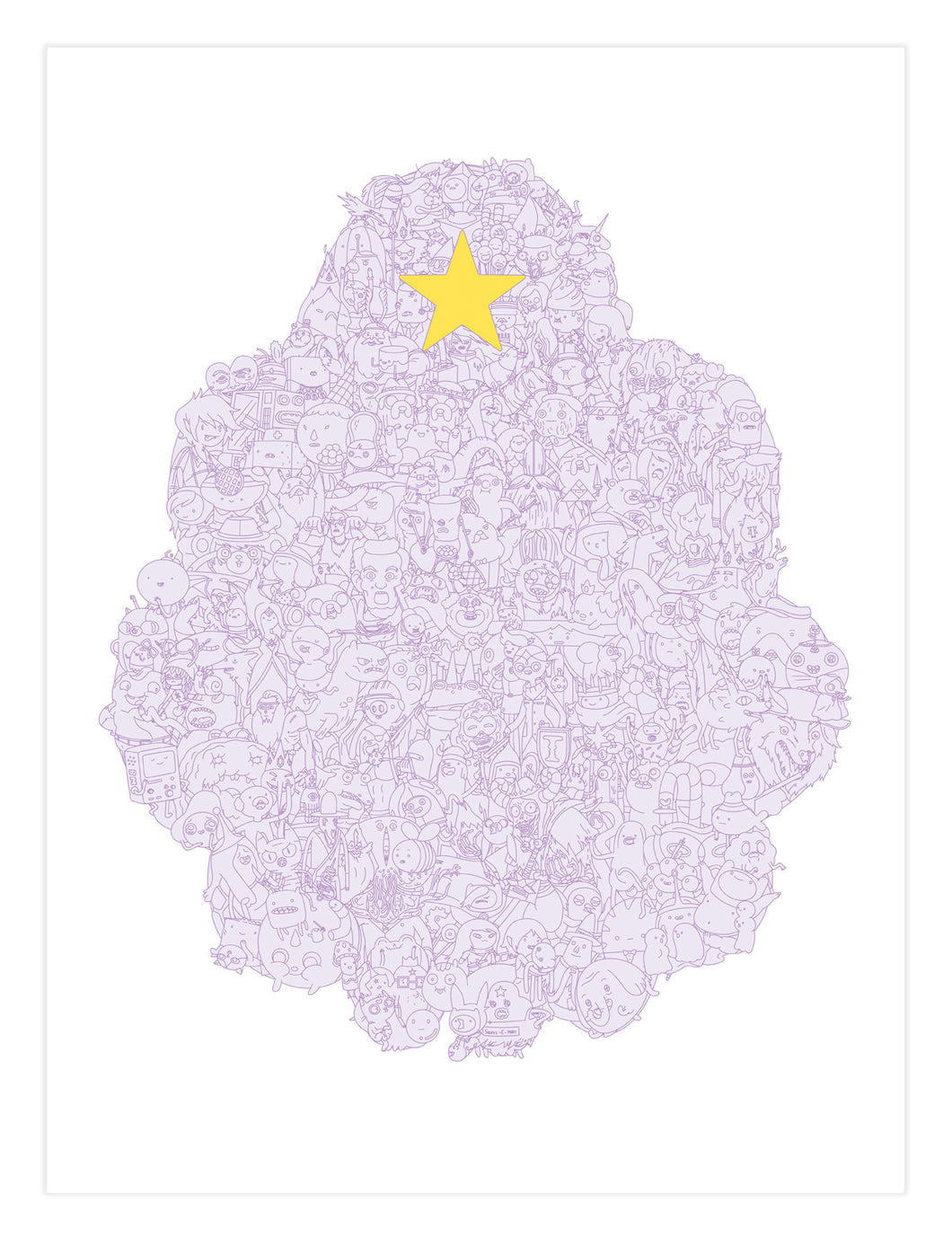 Lumpy Space Poster (Adventure Time) - Print