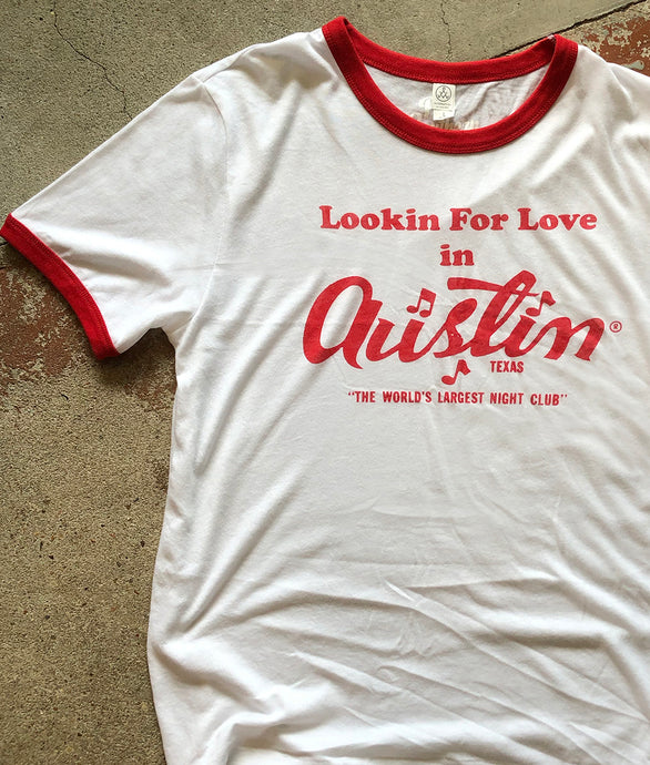 Lookin' for Love Ringer - Unisex Tee