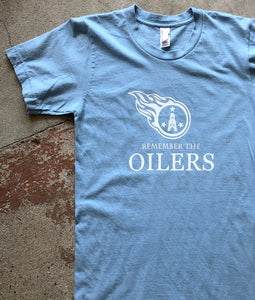 Remember The Oilers - Unisex Tee