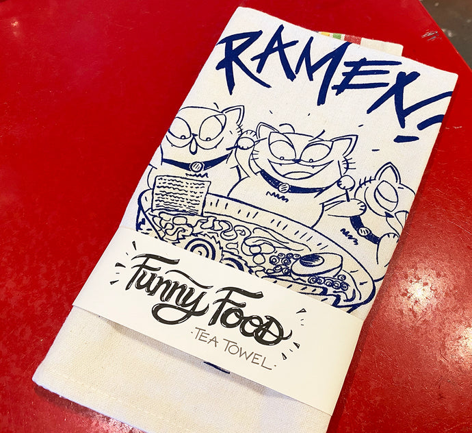 Tea Towel - Ramen - Fisk and Fern