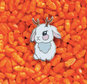 LuxCups - Jackalope Pin