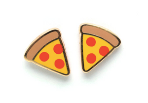 LuxCups - Pizza Earrings