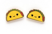 Load image into Gallery viewer, LuxCups - Taco Earrings