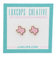 Load image into Gallery viewer, LuxCups - Texas Earrings