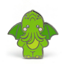 Load image into Gallery viewer, LuxCups - Cute-thulu Enamel Pin