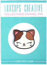 Load image into Gallery viewer, LuxCups - Kitty Enamel Pin