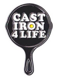Cast Iron 4 Life - Enamel Pin