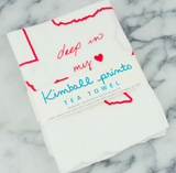 Tea Towel - Deep in My Heart - Kimball Prints