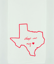 Load image into Gallery viewer, Tea Towel - Deep in My Heart - Kimball Prints