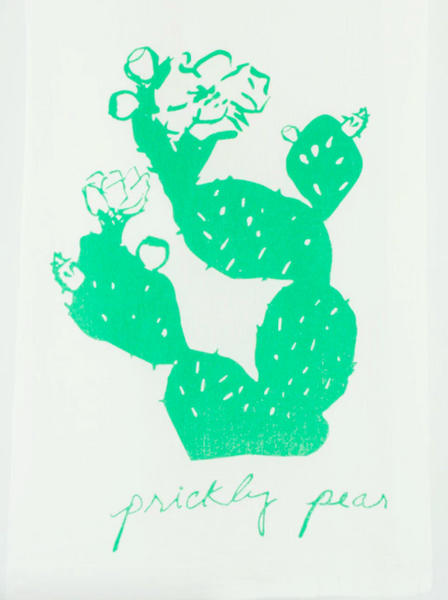 Tea Towel - Prickly Pear - Kimball Prints