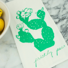 Load image into Gallery viewer, Tea Towel - Prickly Pear - Kimball Prints