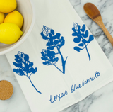 Tea Towel - Texas Bluebonnets