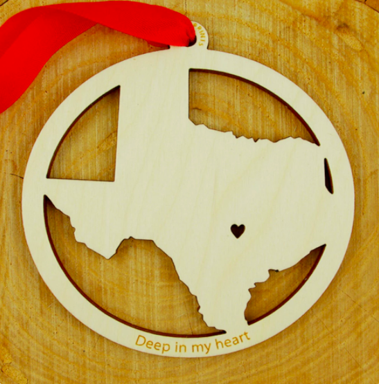 Ornament - Texas