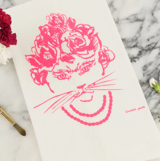 Tea Towel - Frida - Kimball Prints